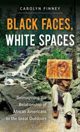 BlackFacesWhiteSpacesBookCover