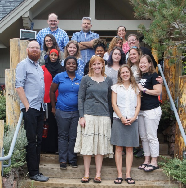 Educator and student participants — Eagle Rock's 2016 Summer Institute.