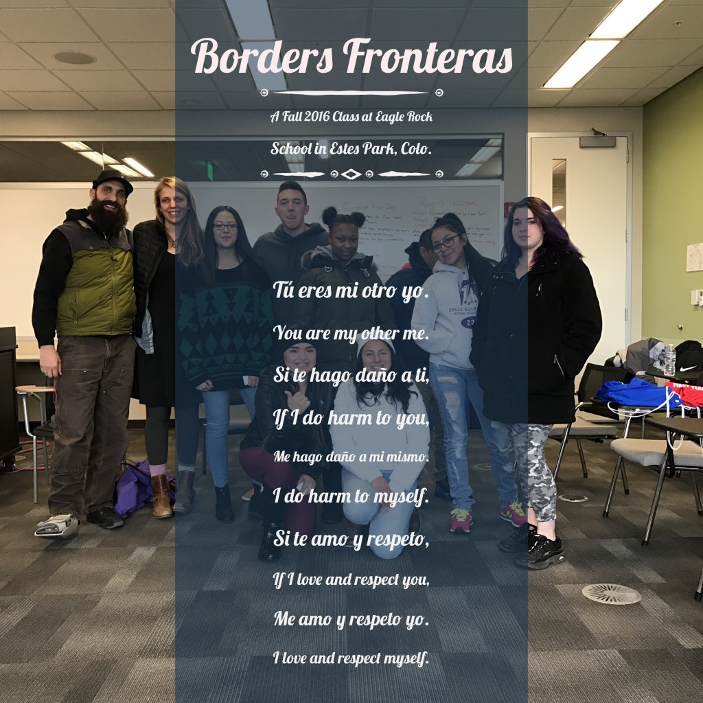 Borders Fronteras Class at Eagle Rock School