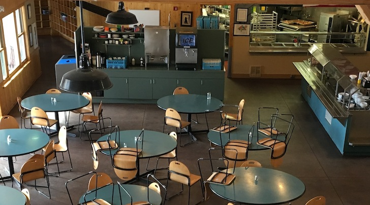 Eagle Rock School Kitchen