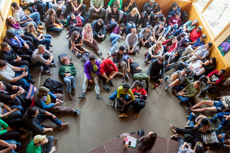 Thanksgiving Day 'Gathering' at Eagle Rock School & Professional Development Center