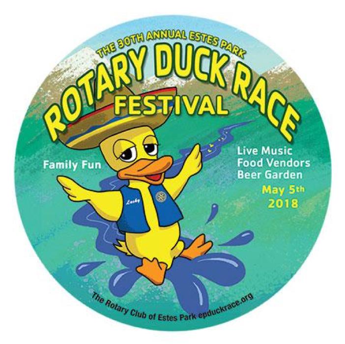 2018 Duck Race Estes Park