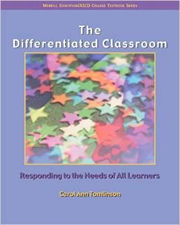 DifferentiatedClassroomBookCover