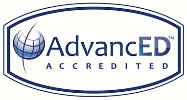 AdvancED accreditation seal