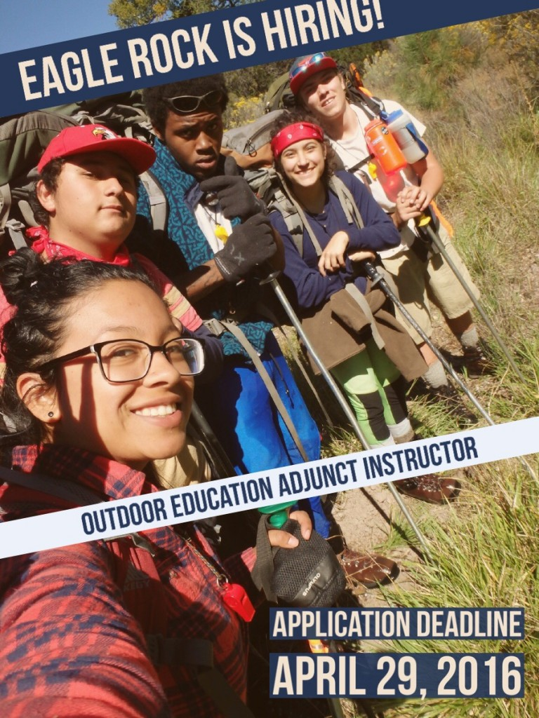 Eagle Rock Outdoor Education Adjunct Instructor2