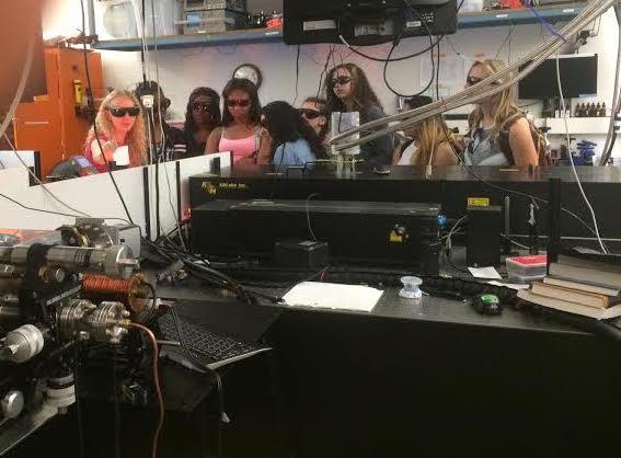 Eagle Rock High School Physics Students