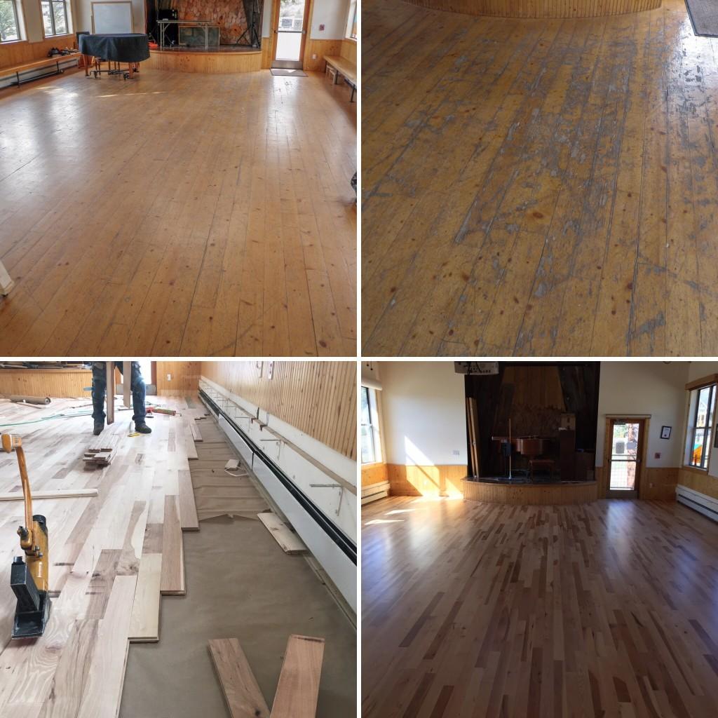 Eagle Rock School Floor Replacement