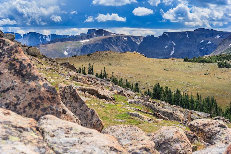Rocky Mountains National Park in Colorado,  USA