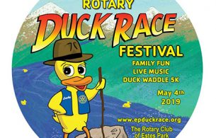 Annual Estes Park Duck Race on May 4 Benefits our Graduate Education Fund