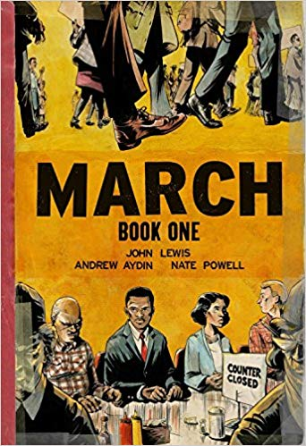 March Graphic Novel Book Cover