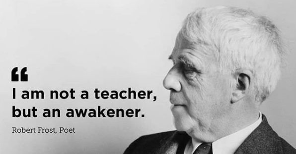 Robert-Frost-Teaching-Quote