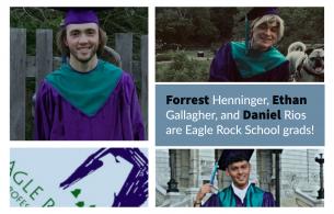 Online Ceremony Marks Celebration for Eagle Rock School's Newest Grads