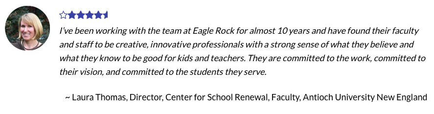 Why Eagle Rock Professional Development